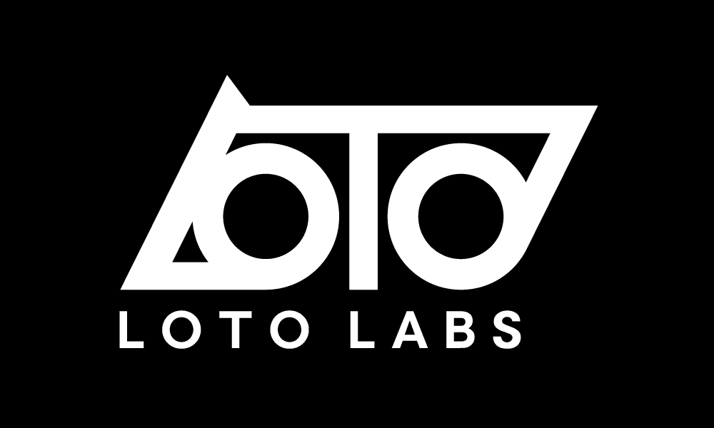 Loto Labs Logo (On Black)