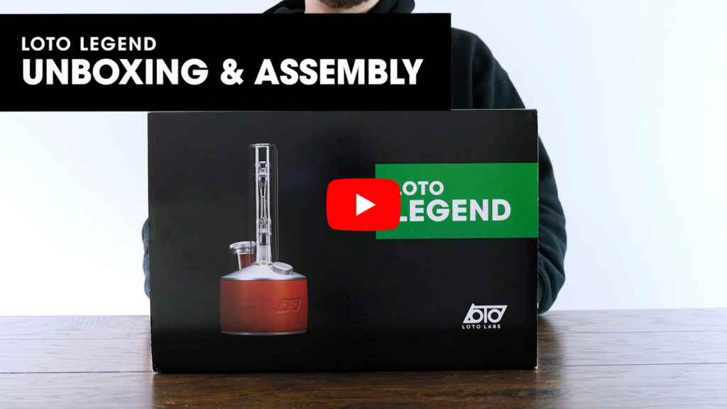 How to Dab - Loto Legend - Induction Dab Rig Vaporizer Video