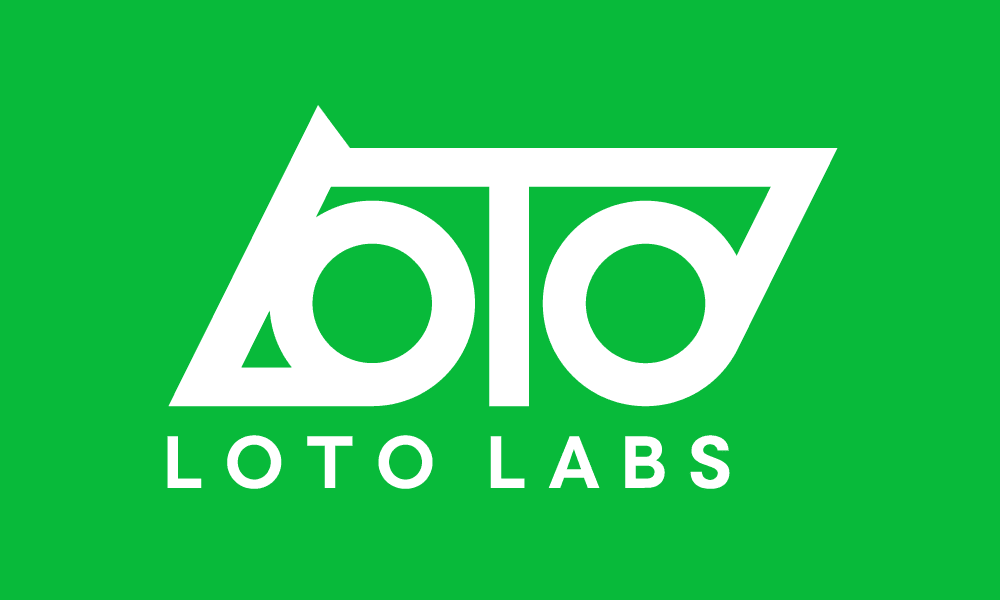 Loto Labs Logo (On Green)